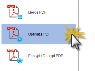 Optimize PDF