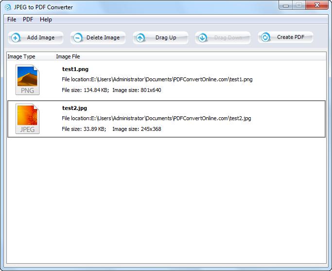Mac - Convert BMP image to JPEG, PNG, GIF, TIFF, or PDF