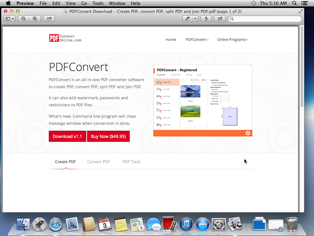 How to Add Bookmark to PDF on Mac OS X